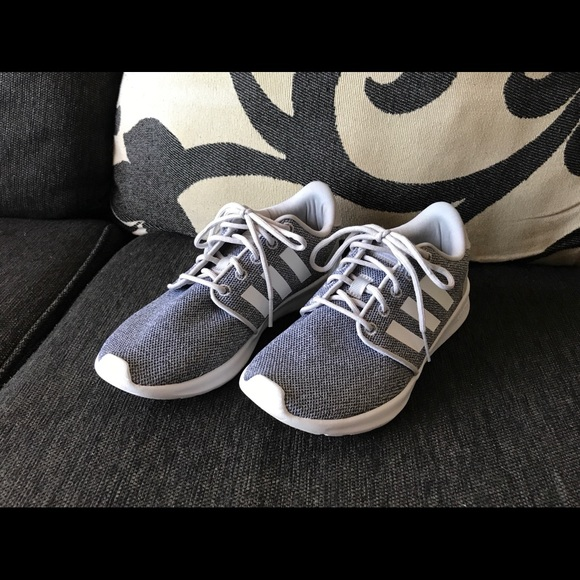 1f883289d adidas Shoes - Adidas - Light Grey White Running Shoes!